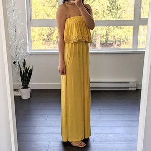 Forever 21 Yellow Maxi Dress (Video Included)